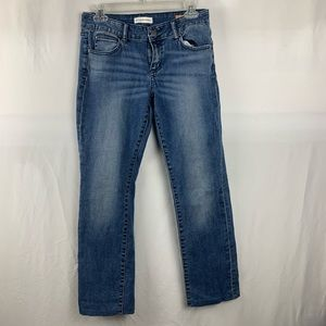 Pilcro and the letter press Jeans